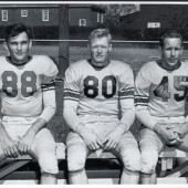 6 John T #45 Eugene Offield #80 good friends from Breckenridge and #88 sitting on bench