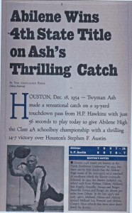 Ash - the Catch