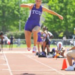 TCU Invitational track and field meet