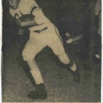 Sophomore year ('53) TD against Amarillo playing for Coach Pete Shotwell.