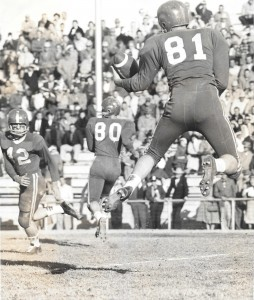 Ron Payne #81 catch